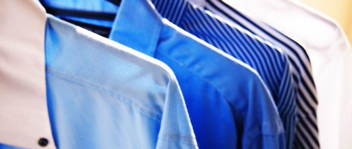 hemden offen oder zu waschen