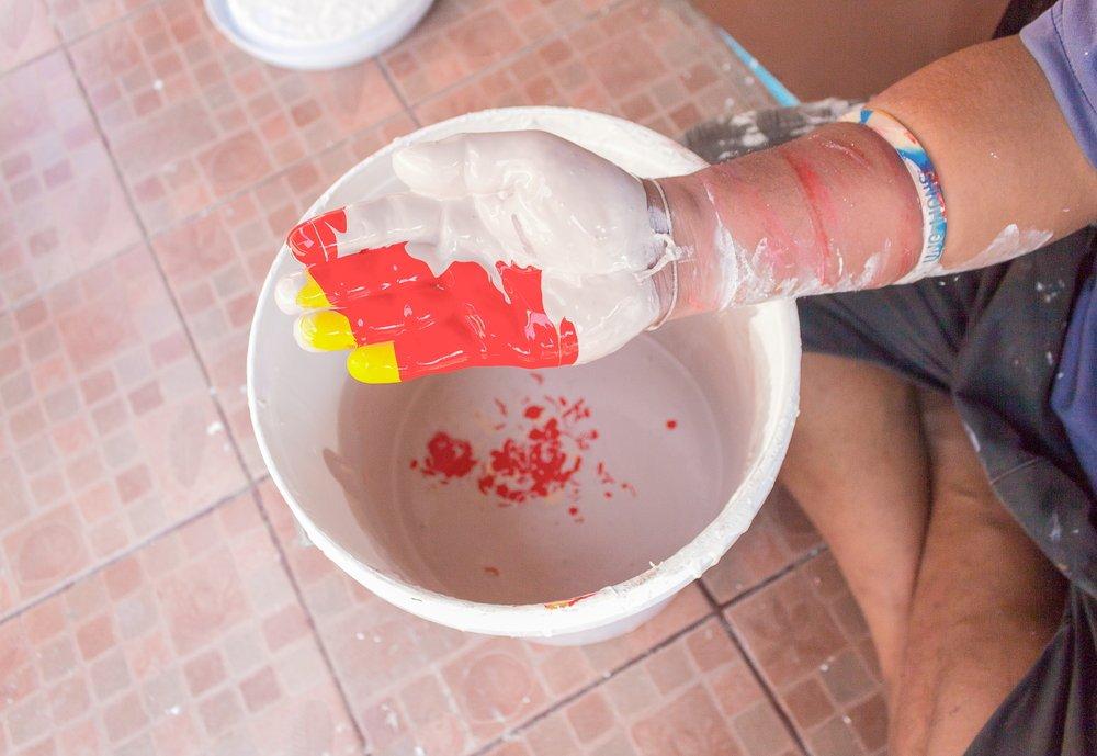 latexfarbe entfernen