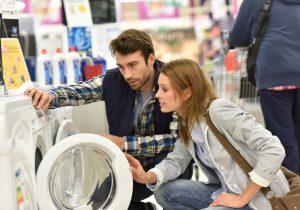 Neue Waschmaschine für bessere Textilpflege