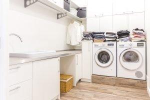 Waschraum Frontloader