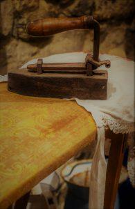 aermelbrett Holz buegelbrettbezug