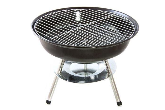 kleiner grill sauber