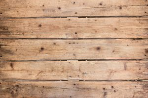 unbehandelte Holzdielen von oben