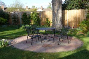 Garten mit viel Schatten