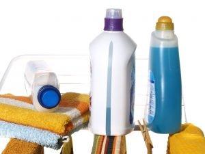 konventionelle textilerfrischer und waschmittel